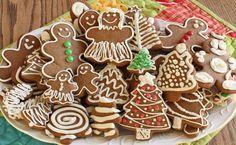 Печем имбирное печенье с глазурью: рецепт с фото