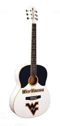 SALE! College Guitars Univ. of West Virginia Acoustic Guitar