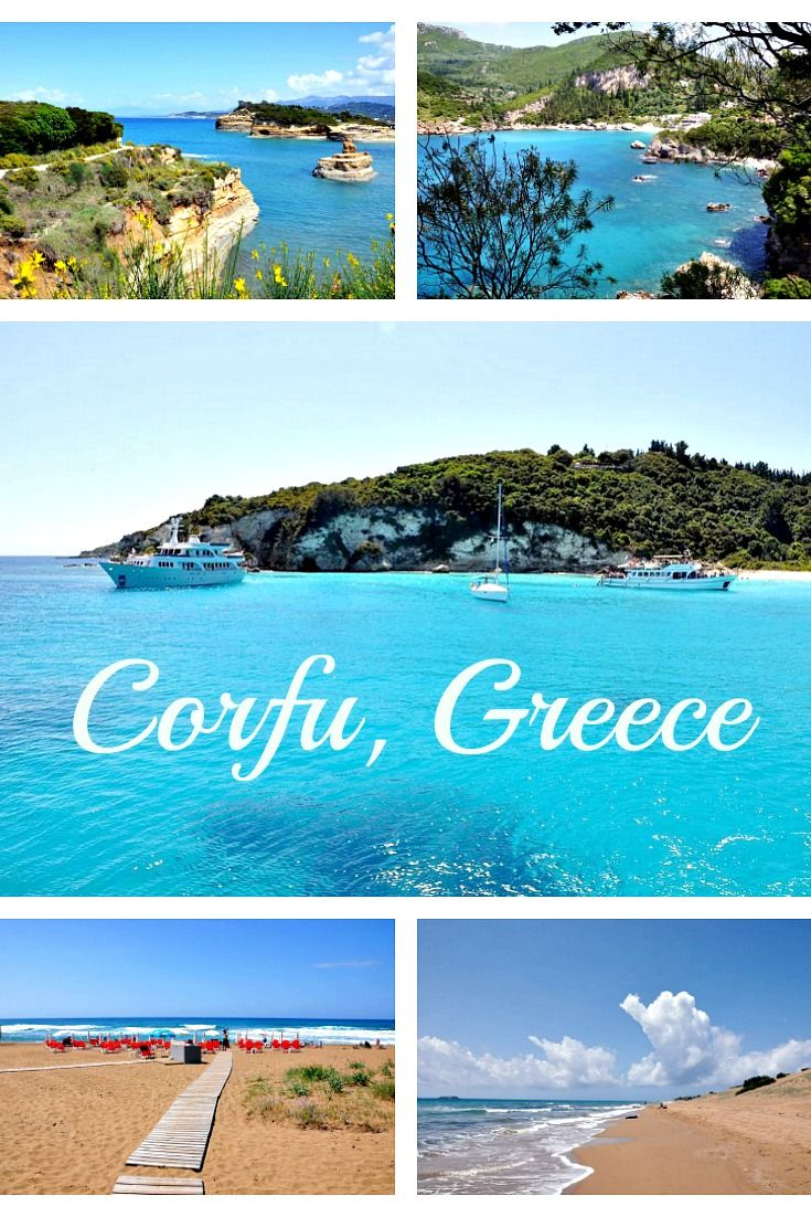 Corfu, Greece: 35+ pictures of what to see on and around the island / Korfu, Griechenland: Die schönsten Plätze der Insel #Corfu #Greece #Korfu #Griechenland #travel #luxurytravel #Urlaub #Reise