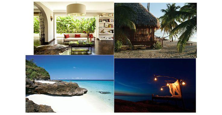 Un palais en Inde, une cabane sur pilotis aux Maldives, une villa dans la jungle thaïlandaise, un campement  à la belle étoile au Mozambique... Voici dix spots romantiques autour du monde pour une lune de miel irrésistible.