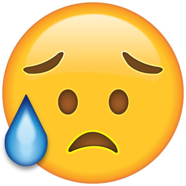 Crying Emoji Png Products, icons and messages on pinterest Sad Baby Face Gif