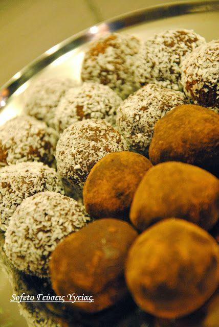 «Βόμβες» σοκολάτας μεν , χωρίς ζάχαρη και με λίγα λιπαρά δε… Συνταγές για διαβητικούς Sofeto Γεύσεις Υγείας.