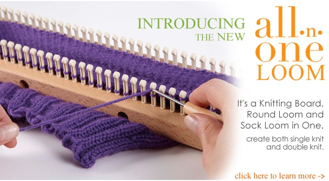 Authentic Knitting Board Patterns : Authentic Knitting board - Adjustable Knitting Boards, patterns, dvds, rug ya...