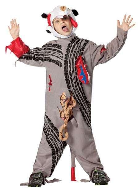 Costumi Halloween per bambini fai da te: idee originali - Zombie bellissimo