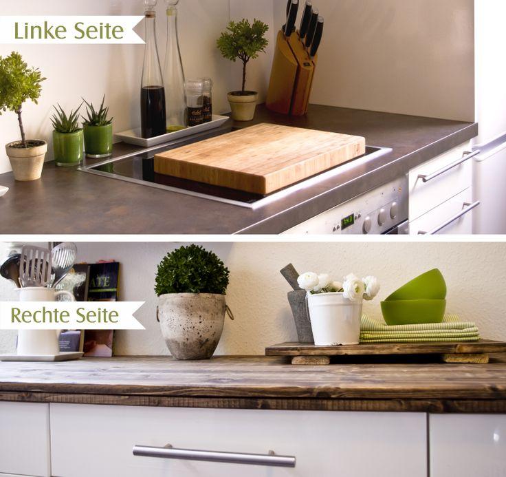 Spectacular DIY Working Space Kitchen DIY Arbeitsplatte Korpus K che http kukuwaja