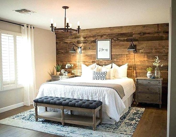 Modernes Rustikales Schlafzimmer Schlafzimmer Design Rustikales