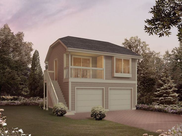 Herminia Garage Apartment Stylish Two Story Apartment Garage Has Side Staircase