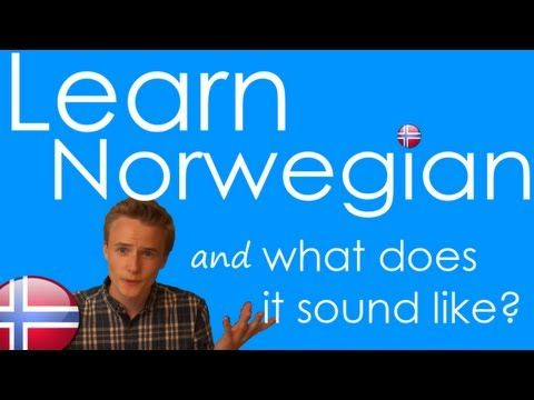 How to Speak Norwegian! Basic Language Guide - Learn Norwegian - YouTube