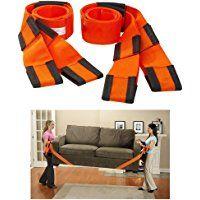 Hebe bandoulière aide Sangle de portage pour meubles et déménagement?2pièces