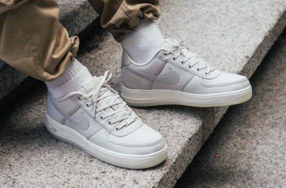 finest selection 21c74 f009e Nike Basketball Shoes · Nike Air Force 1 Low Canvas Light Bone Releasing  Tomorrow The Nike Air Force 1 Low
