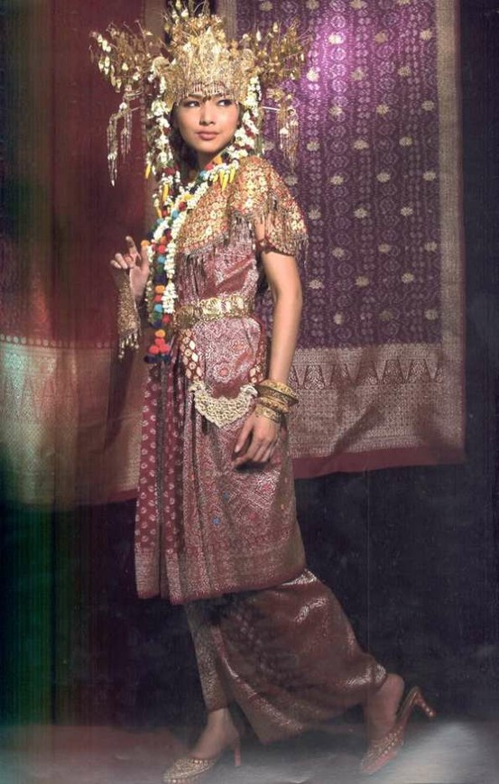 South Sumatra Wedding Dress