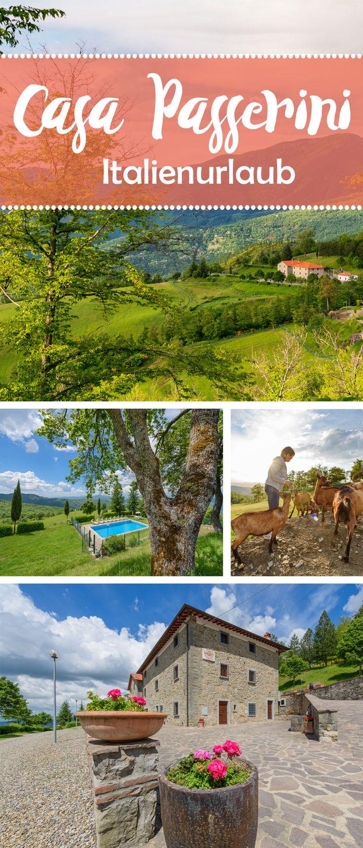 Inmitten von Feldern, alten Olivenhainen und Mischwäldern liegt im Nordosten der Toskana an einer kleinen, fast unbefahrenen Straße unsere Casa Passerini – ein ländliches Paradies mit Wohlfühlfaktor! #Italien #Reisetipps #Inspiration #Landhausstil #Toskana #Familie #Entspannung #Wandern #Oliven #Wein #Urlaub