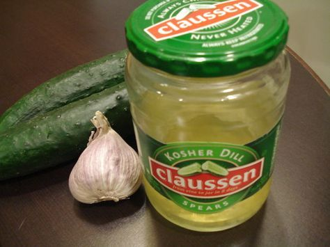 Clone Your Favorite Store-Bought Pickles For Under A Dollar. Claussen pickles, here I come!!