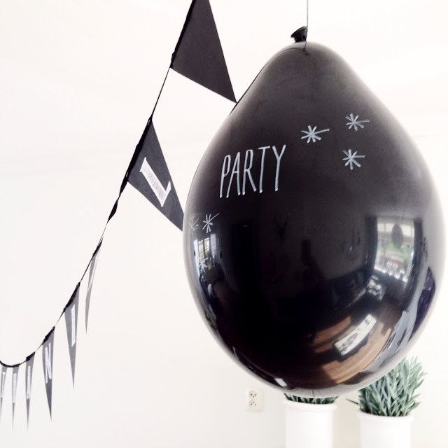 A Little Lovely Company's Chalkboard Balloons | Smitten for the Wee Generation