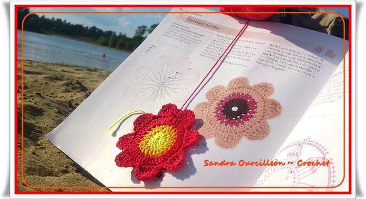 ... al lago con el crochet :-)