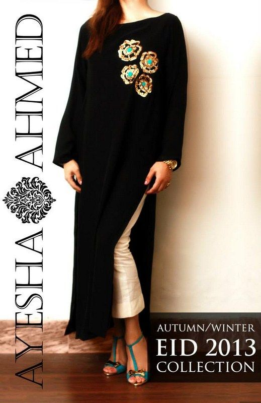 Ayesha Ahmed Autumn #Dresses 2013 For #Women