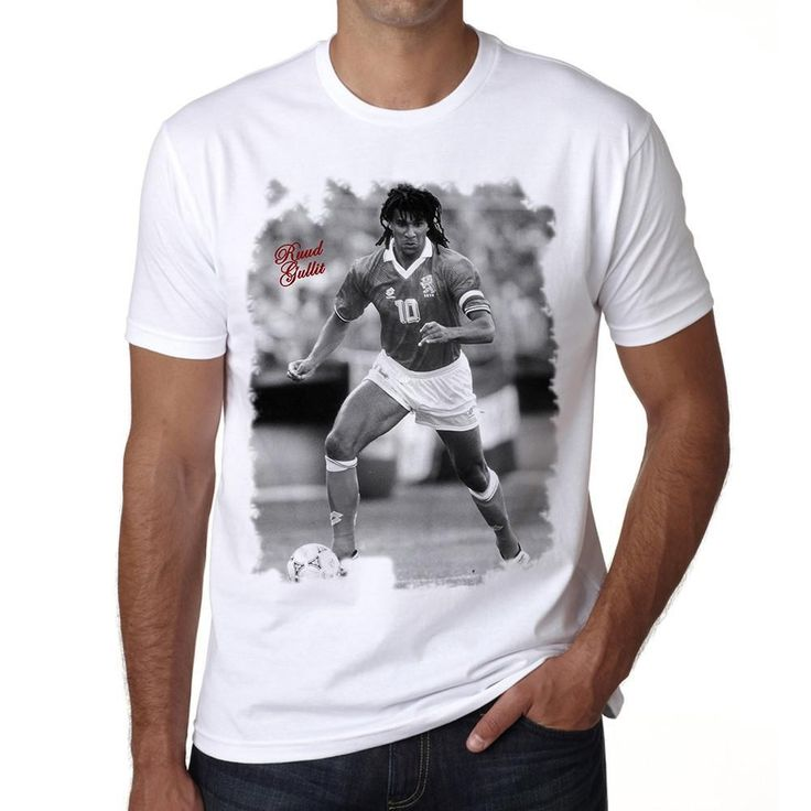 Ruud Gullit Men's T-shirt ONE IN THE CITY