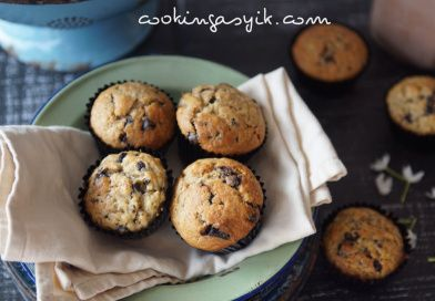 Banana Choco Chunks Muffin – pengobat rindu!