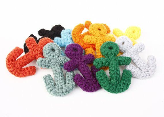Thursday Handmade Love Week 67 Theme: Sailor Includes links to #free #crochet patterns  Crochet Anchor PDF Pattern