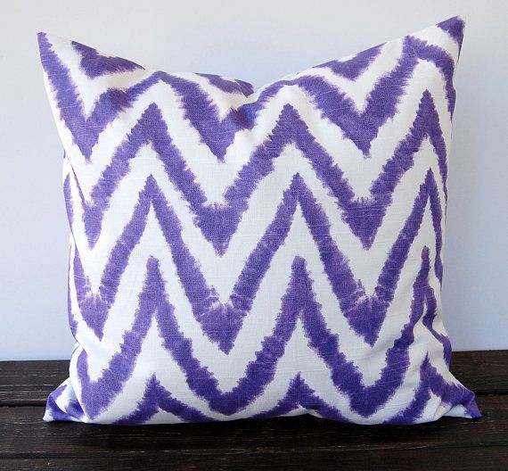 Purple throw pillow cover 20 inch x 20 inch by ThePillowPeople