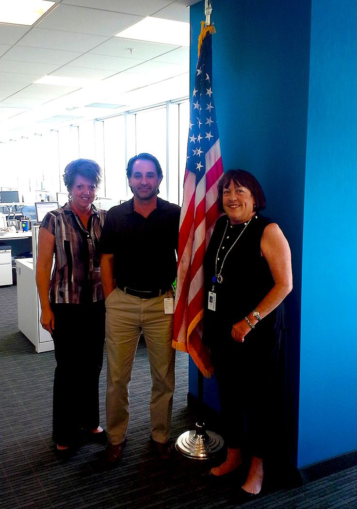 Jolene, Jorge and Cathy from the Amadeus North America office.