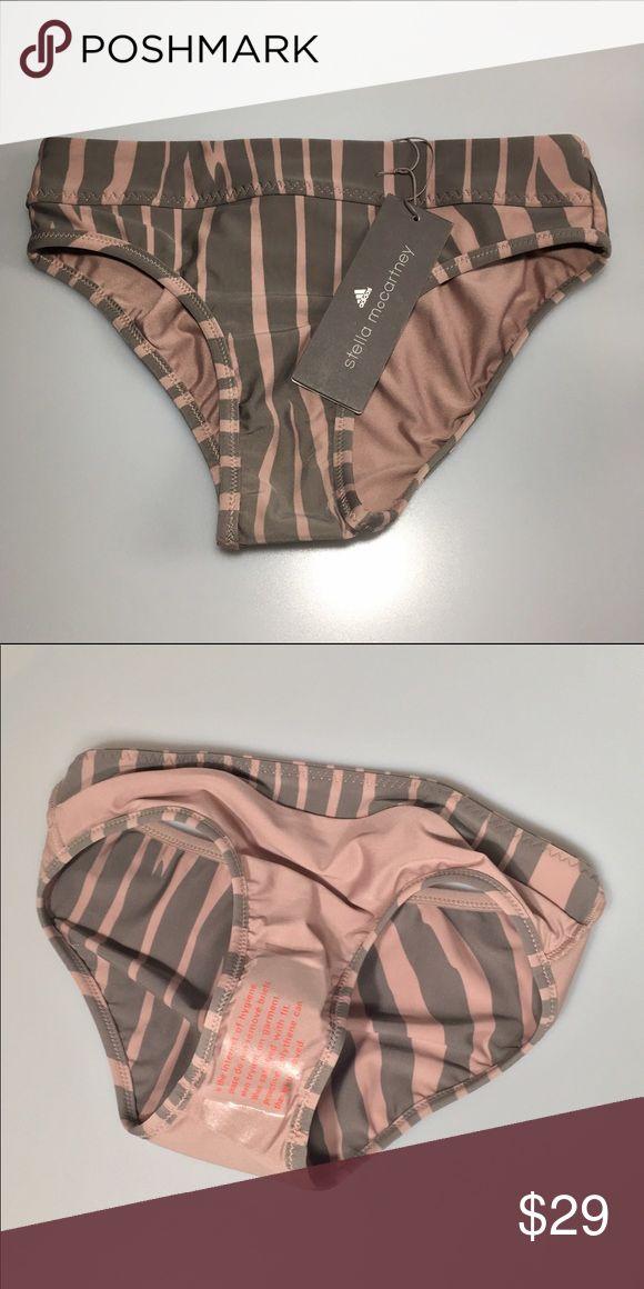 Adidas by Stella McCartney Zebra Bikini Bottom Brand new Adidas by Stella McCartney Swim Bikinis
