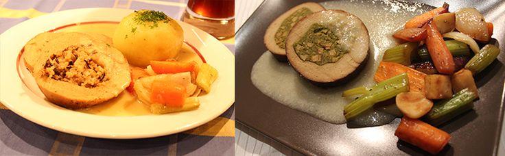 Boutique-Vegan.com | Rôti végétal à la sauce au raifort | ...de bon coeur vegan
