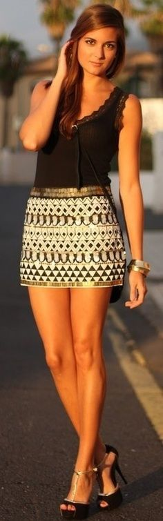 96 best Short Skirts ~ Mini Skirts ~ Above The Knee Skirts ~Skirts ...