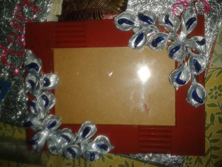 Silver flower frames !!