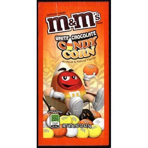 Шок. конфеты M&M's CANDY CORN с вкусом кукурузного сиропа и белым шоколадом