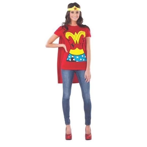 Dc comicks  Other - Wonder Woman Halloween t shirt cape headband SMLXL