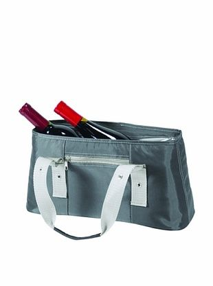 35% OFF Picnic Time Alexis Insulated Lunch/Wine Tote (Gray)