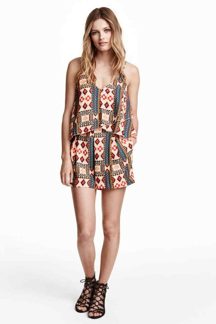 Tiered playsuit | H&M