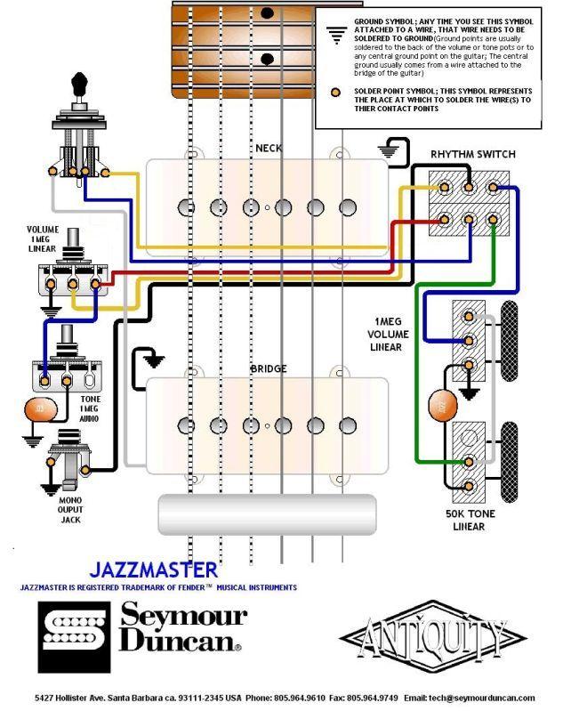 Fender Blacktop Jazzmaster Wiring Diagram Arbortechus