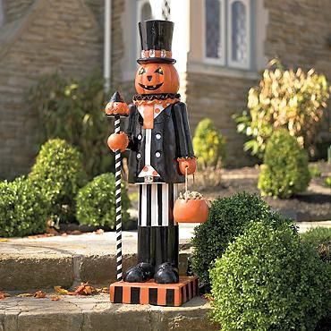 Pumpkin Man Figure I think he could be very easy to make.