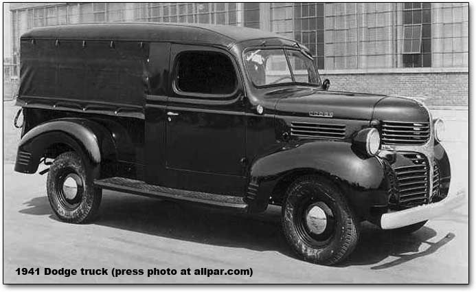 History of the Dodge Pickup Trucks, 1921-