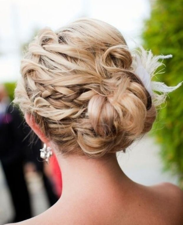 Formal Bridal Hair Up Do