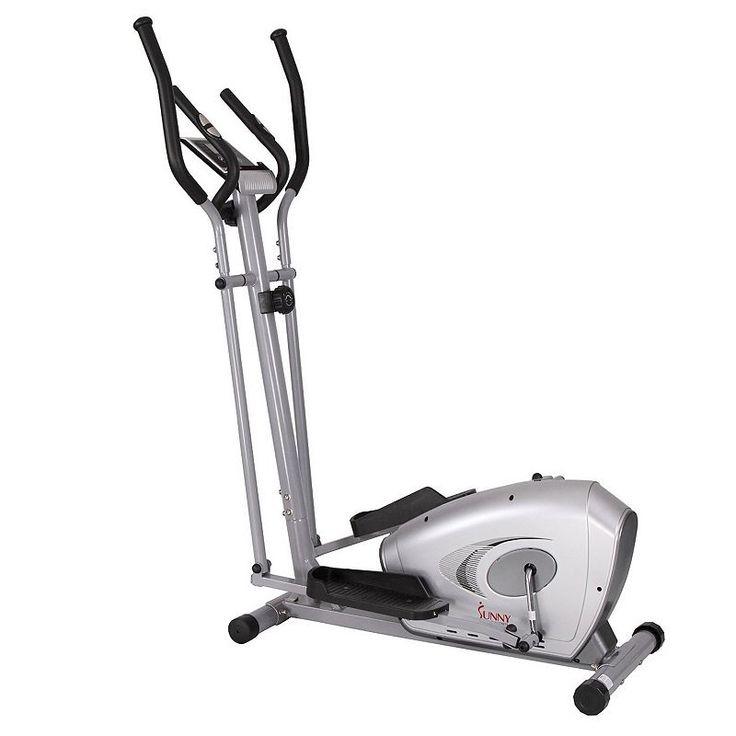 Sunny health fitness elliptical trainer sf