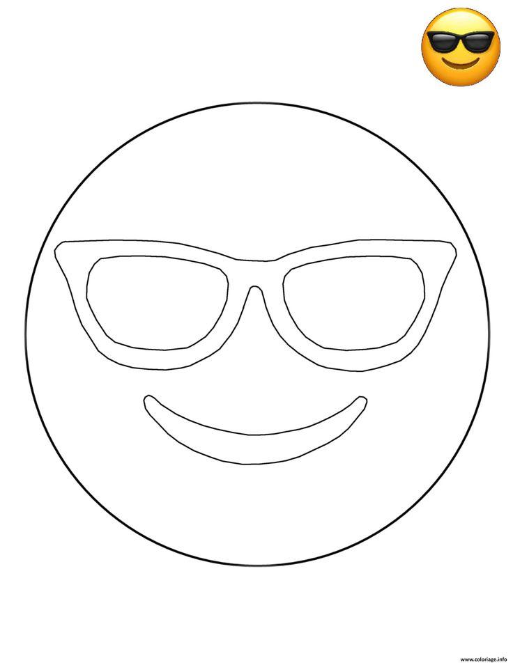 dessin coloriage emoji #ColoriageEmoji