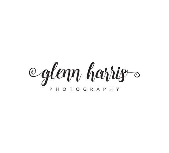Calligraphy Photography Logo Premade Photography by SeloraDesigns