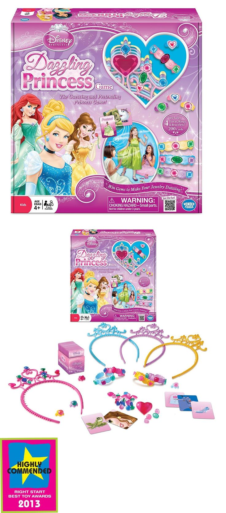Game Pieces Parts 7317: New!!! Disney Princess Dazzling Princess Game - Free Shipping! -> BUY IT NOW ONLY: $49.99 on eBay!