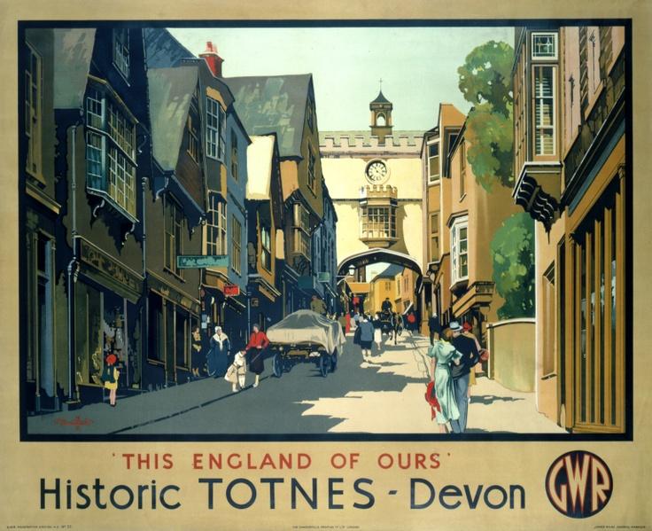 Historic Totnes - Devon - Our collection - National Railway Museum