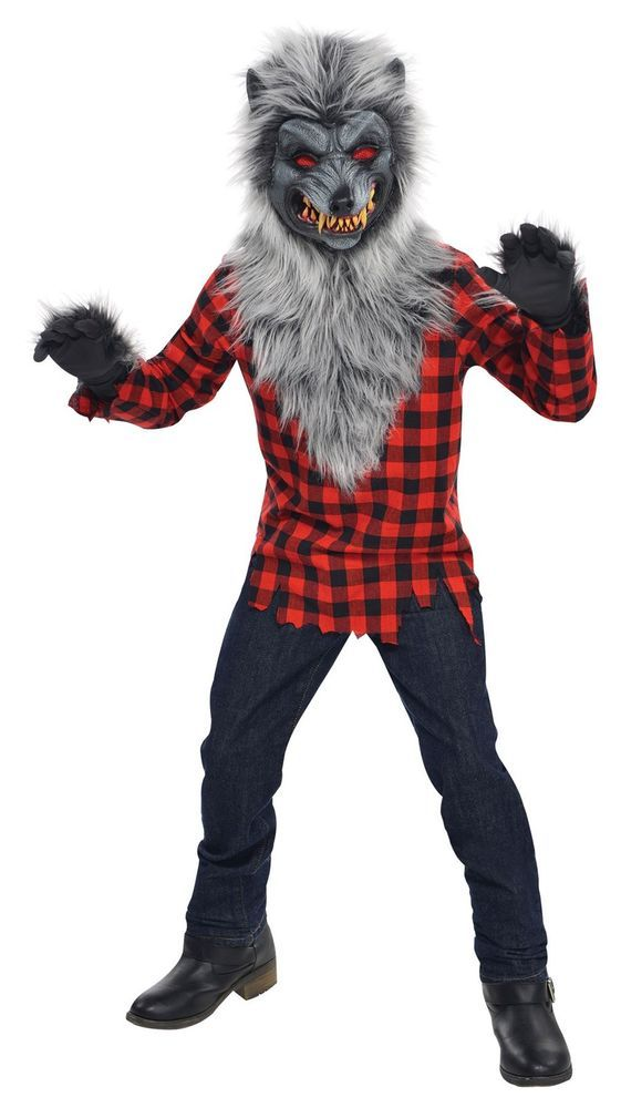 Hungry Howler Teen Wolf Werewolf Costume Classic Movie Inspired Costumes Trick or Treat Fancy Dress