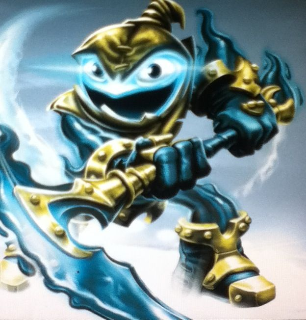 Legendary Grim Creeper Your Time Is Up Undead Skylanders