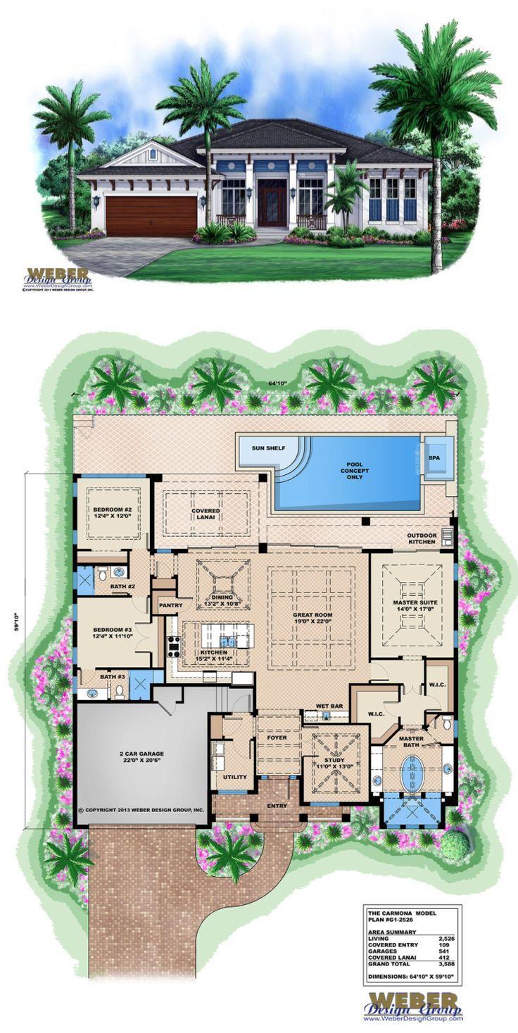 West Indies House Plan Contemporary Island Style Beach Home Plan Beach House Plans Beach House Interior Beach House Decor