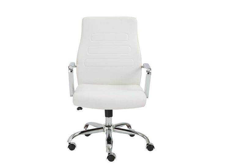 Best White Leather Office Chair Ideas On Pinterest Small - White leather office chairs