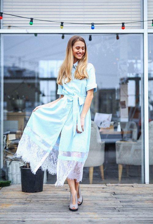 Модные платья-рубашки 2018-2019 года – фото, новинки, тенденции платья- 58103b1f9f6