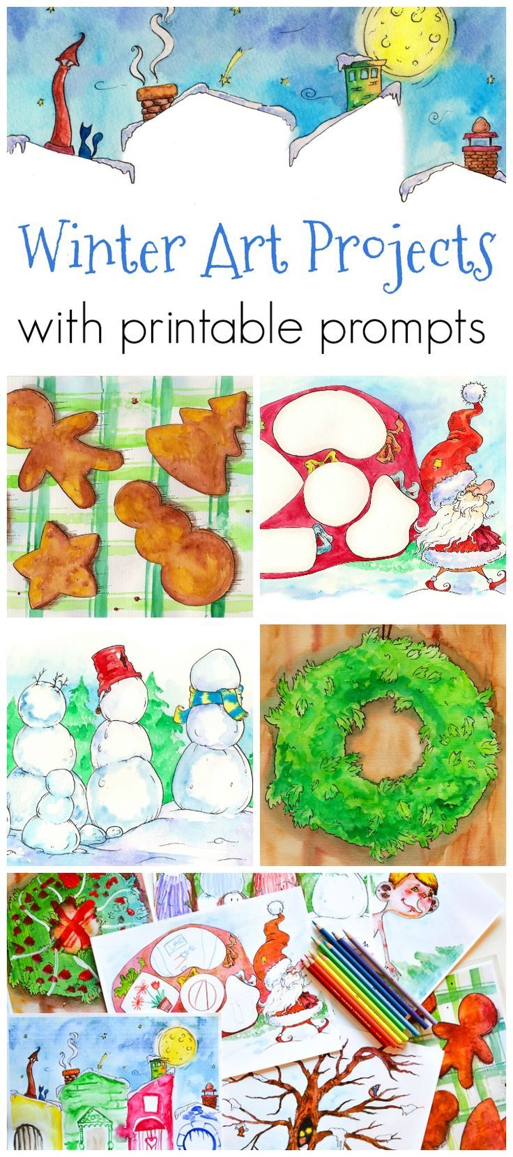 573 best ❊ Snow Adorable Winter Crafts images on Pinterest ...