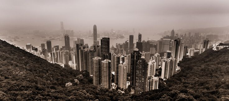 Photograph Honk Kong b&W by Thorsten Henning on 500px