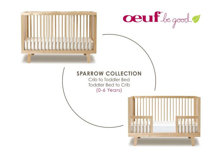 Toddler Bed Conversion Kit - Sparrow
